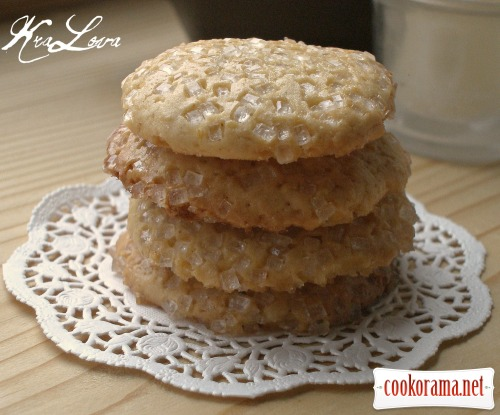 Spicy lavender cookies based on «Honey Drops»