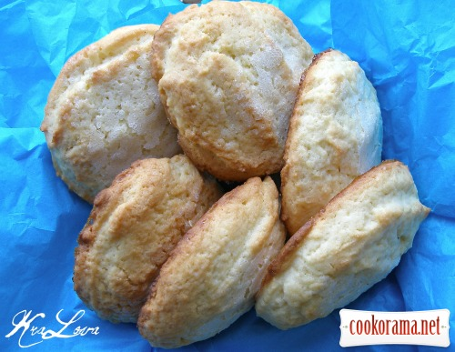 Зимнее печенье с «изморозью»