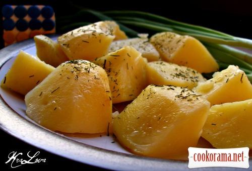 Картофель в банке (по Дарье Цвек)