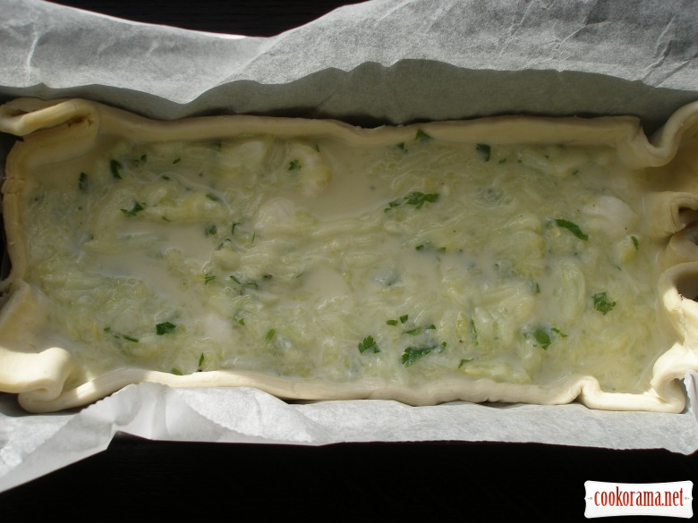 Courgette-cheese Pie