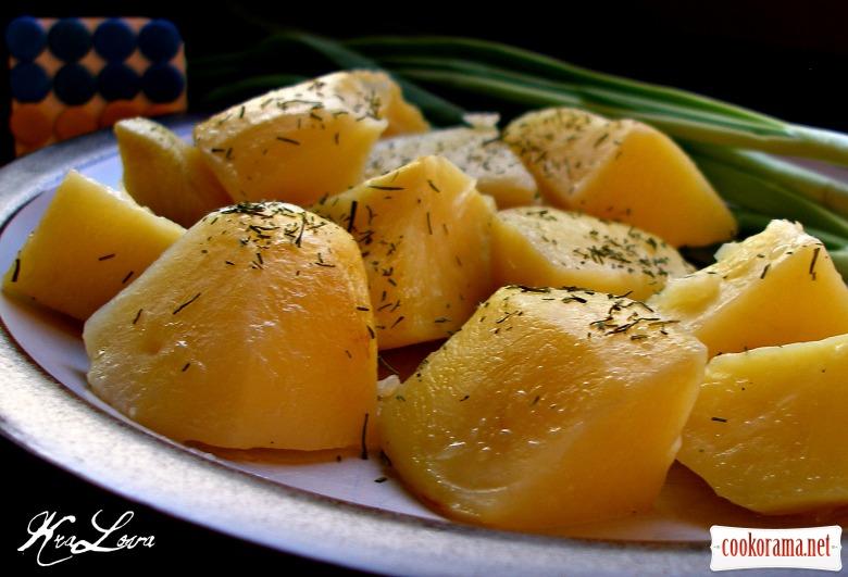 Картопля в банці (за Дарією Цвек)