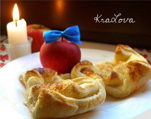 Порционный яблочный пирог