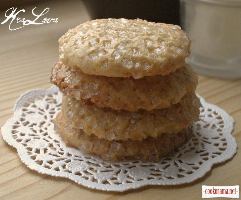 "Spicy lavender cookies based on ""Honey Drops"""