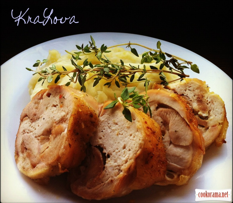 Фаршированные куриные бедрышки по рецепту Ги Жедда