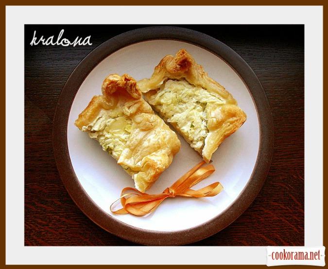 Пирог кабачково-сырный