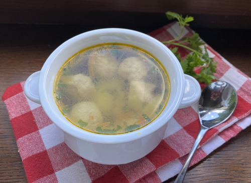 Суп з фрикадельками (РЕЦЕПТ)