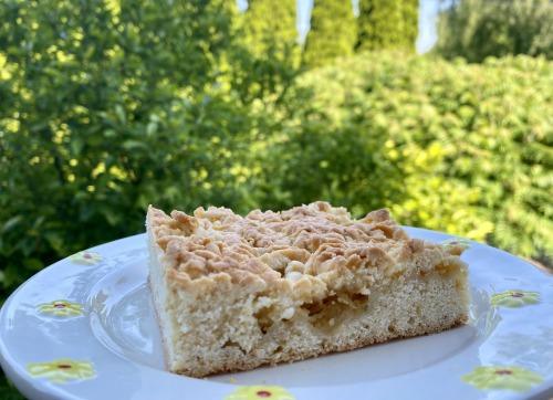 Тёртый пирог с яблоками