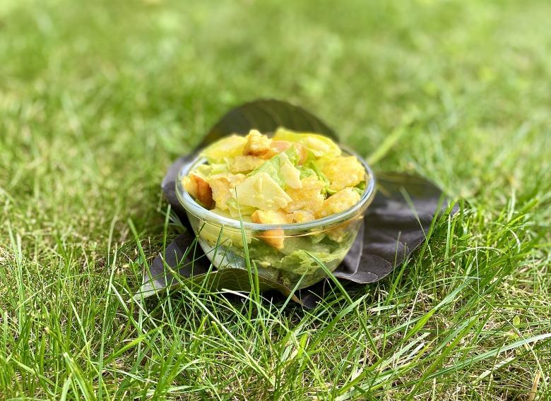 «Цезарь», салат (классический рецепт)