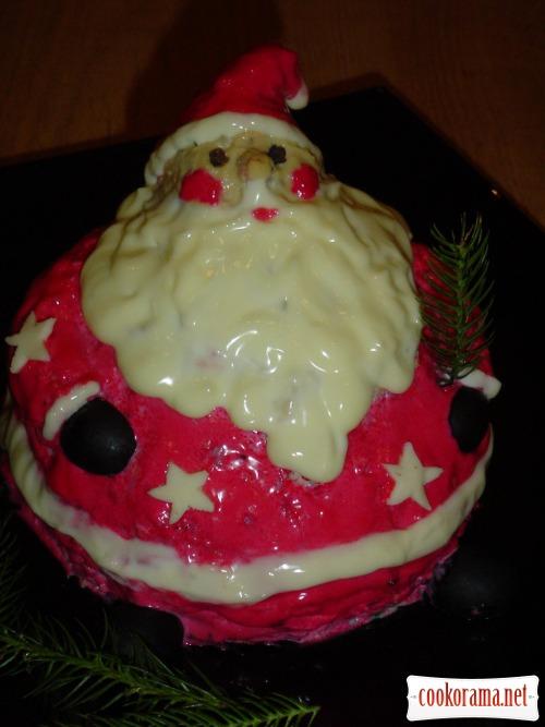 "Салат ""Милый Санта«"