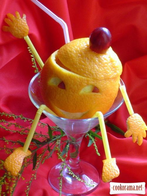 Коктейль «Новогодний смайлик»