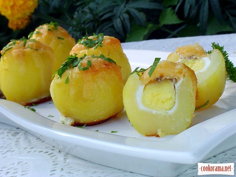 Картопля запечена «Сюрприз»