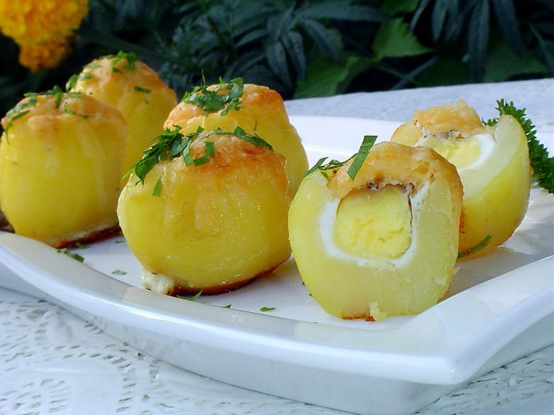 Яйца картофеля рецепты фото