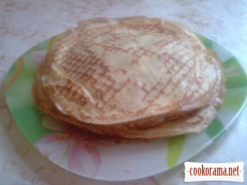 Pancakes with cornstarch