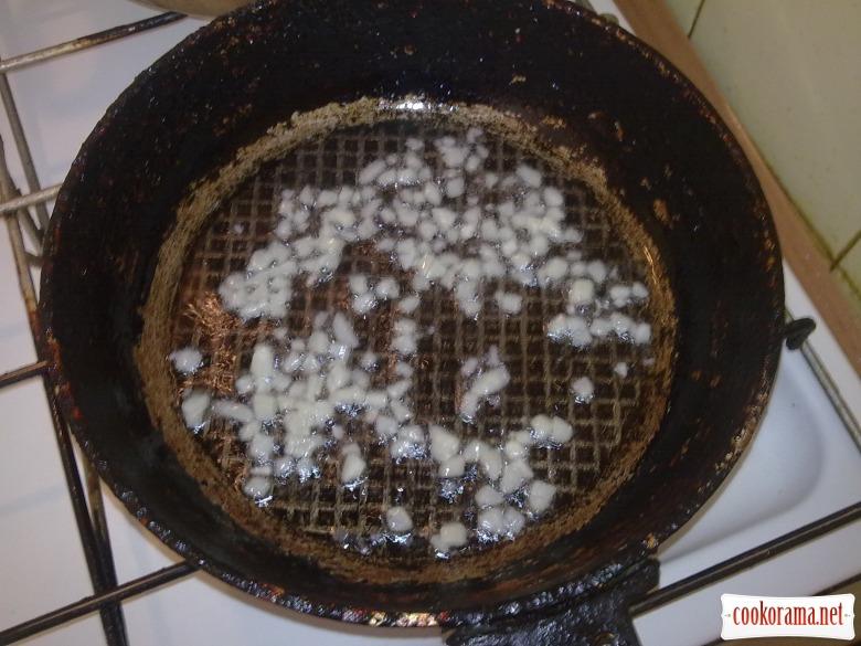 Спаржева квасоля в соусі з помидорів