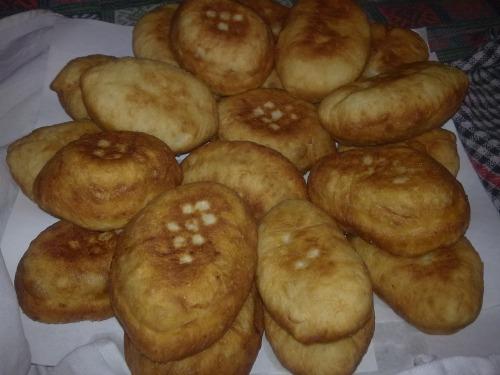 Смажені пиріжки з картопляного тіста