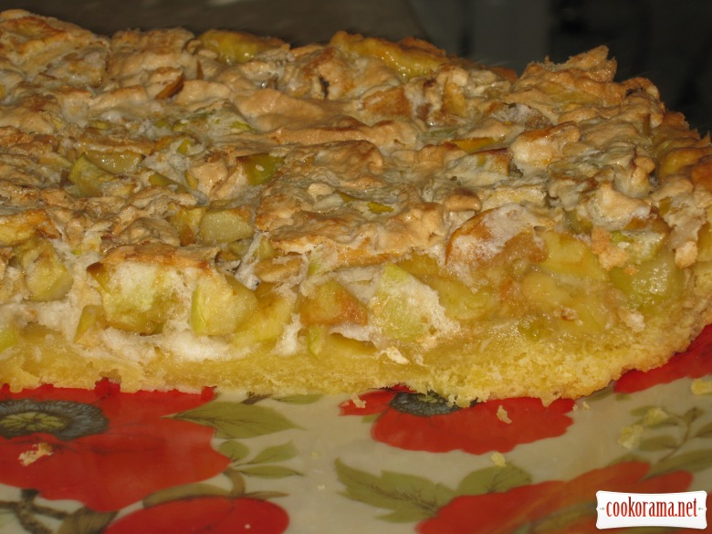 Pie with apples «Try»