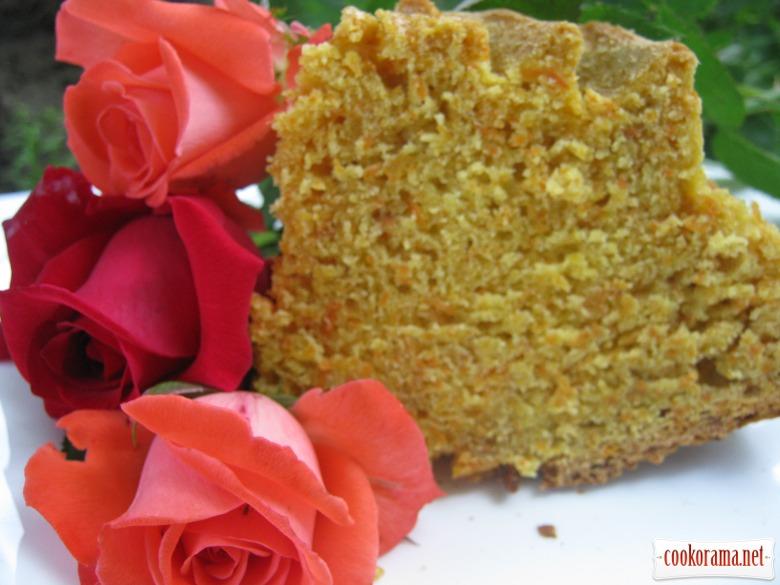 Полезный морковный пирог