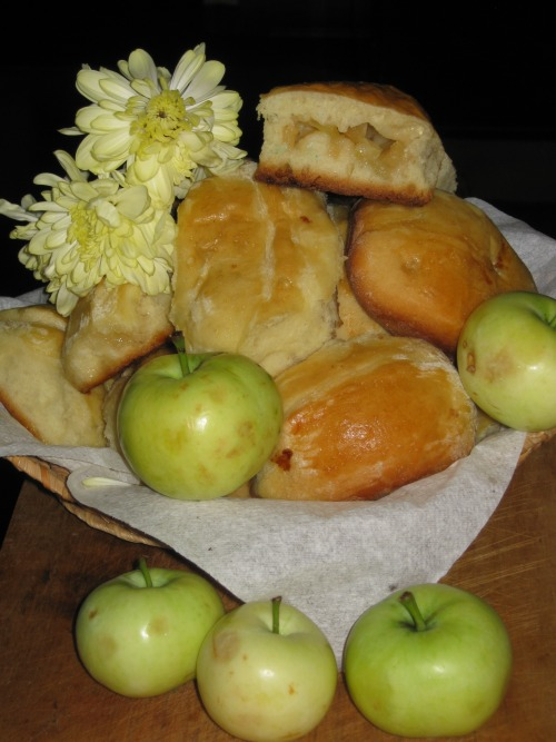 Patties with apples
