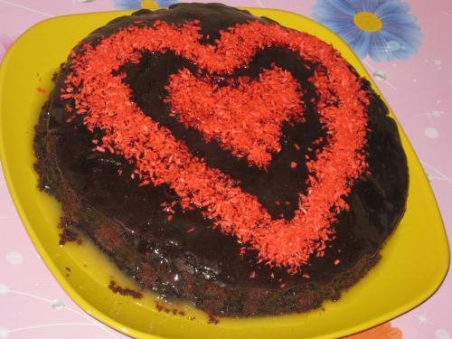 """Вишневий пиріг """"З любов'ю в серці"""""""