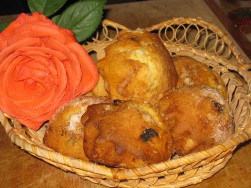 Тыквенные кексы без маргарина и яиц