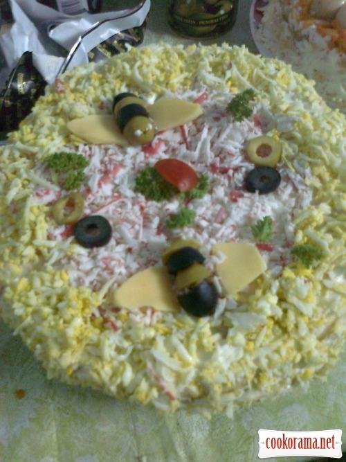 Торт «Закусочный» 2