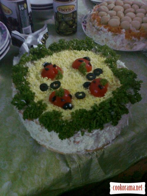 Торт «Закусочный» 1