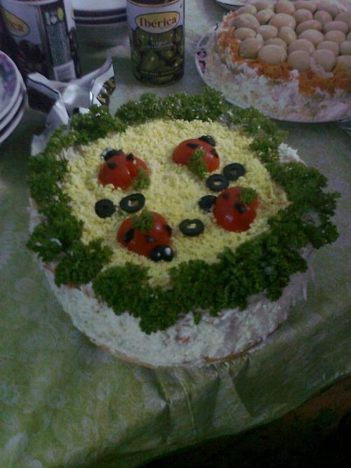 """Торт """"Закусочный"""" 1"""