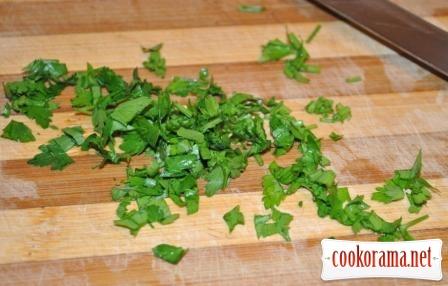 Овочевий салат з моцарелою
