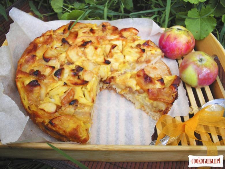 Трансильванский пирог с яблоками