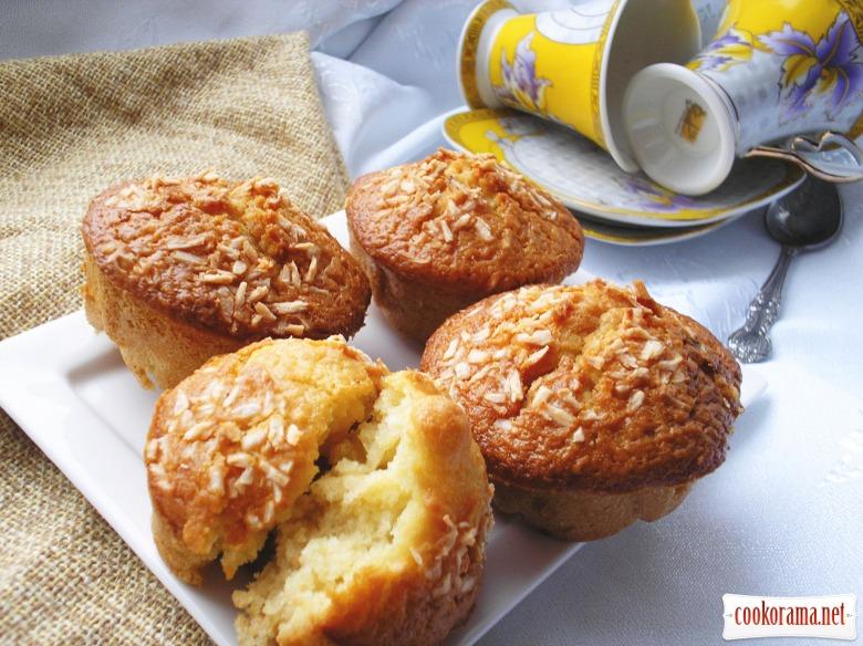 Muffins «Pinacolada»