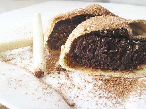Шоколадно-горіховий штрудель