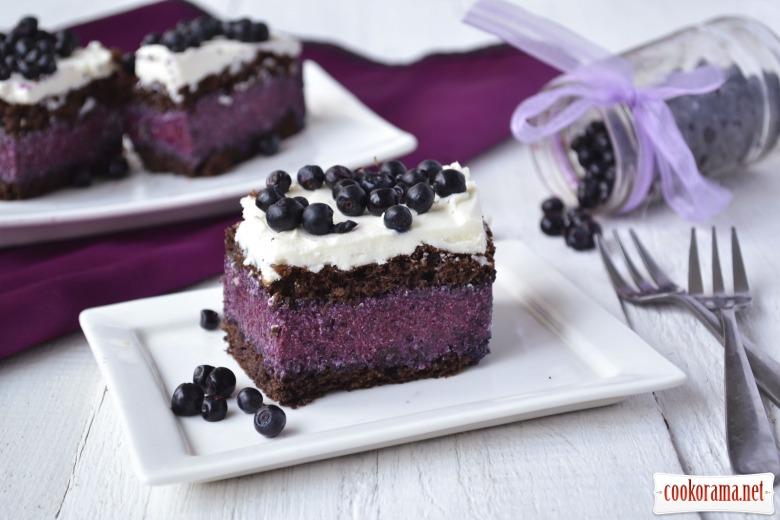 Торт «Черничное искушение»