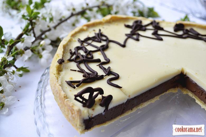 Тарт «Два шоколади»
