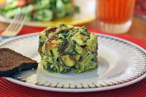 Адигейський сир зі шпинатом (Палак панір)