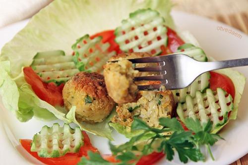 Фалафель з овочами