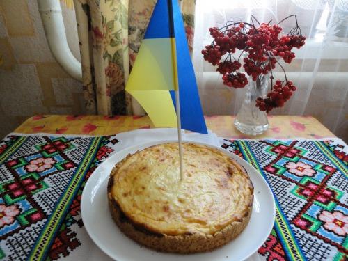 Сирний пиріг з маком