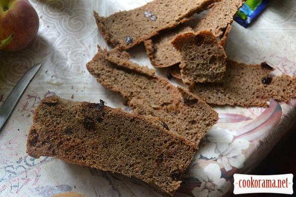очищаем хлеб