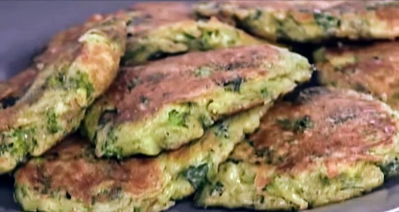 Зелені оладки за рецептом Руслана Сенічкіна