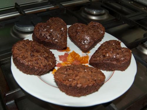 Шоколадні тістечка-кексики