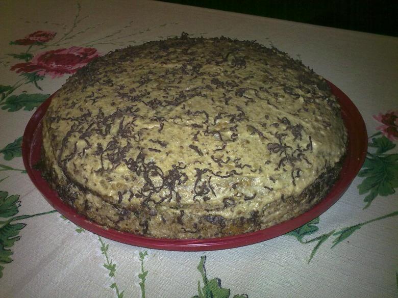Торт горіховий