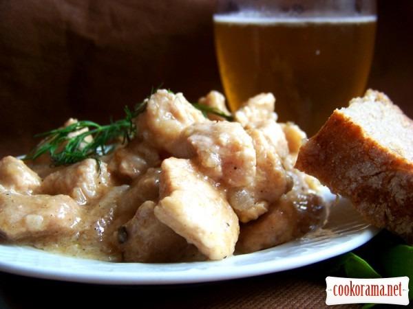 Свинина в пиве по-чешски