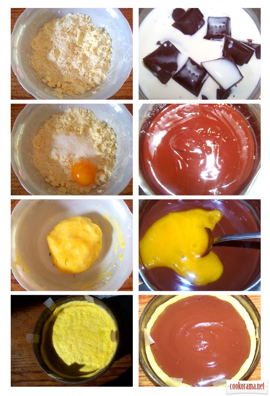 Шоколадний тарт «Франш-Конте»