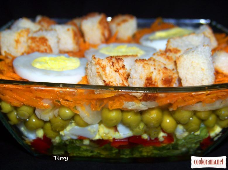 Семишаровий салат