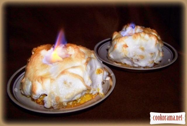 Десерт «Вогонь і лід»