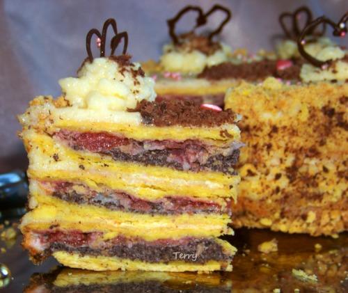 Торт «Непереможний Наполеон»