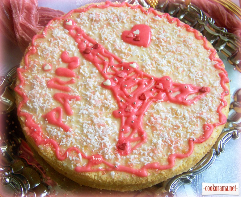 Французький бісквітний торт «Гато-де-Савуа»