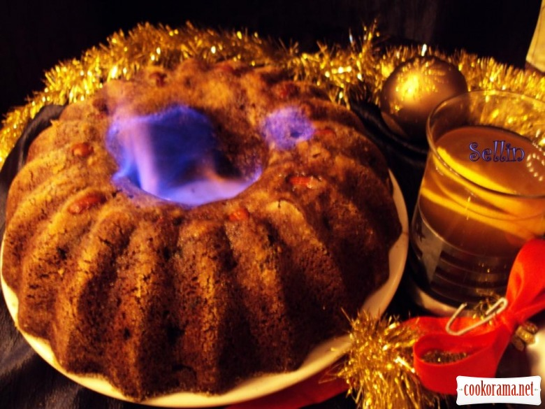 Англійський різдвяний пудинг