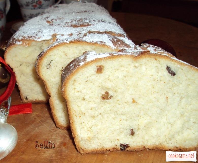 Норвежський кекс з цукатами і кардамоном