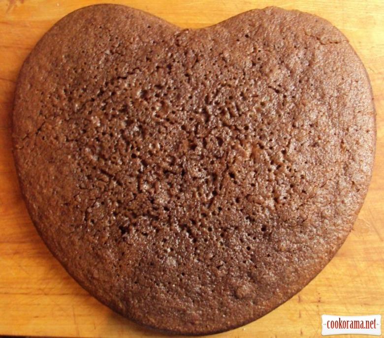 Торт «Пряникове серце»