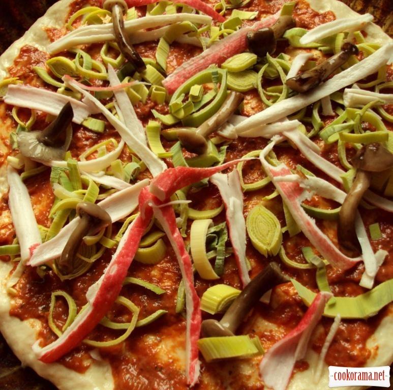 Пісна піцца